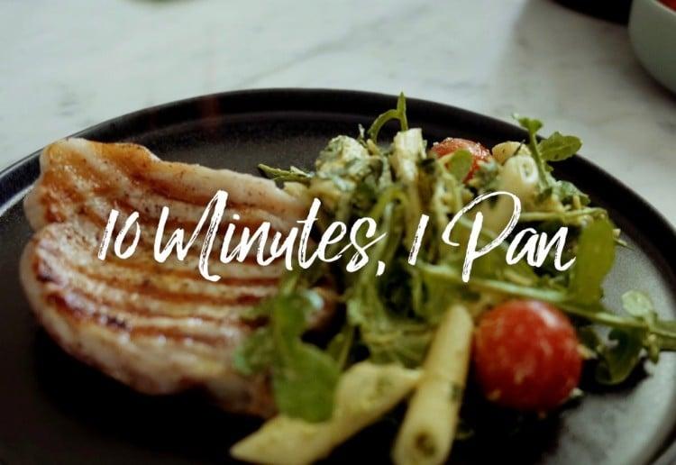 Woolworths 10 minutes, 1 pan dinner