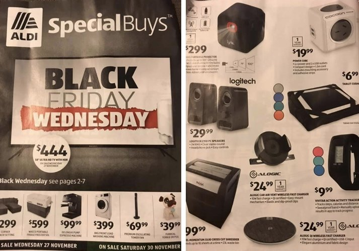 Aldi Black Friday Deals and Sales