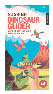 A packet of dinosaur gliders