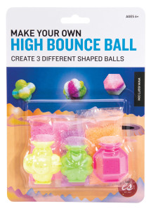 A packet of make your own high bounce balls