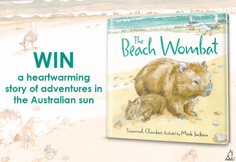 WIN 1 Of 20 Copies Of The Beach Wombat