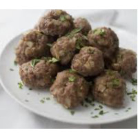 Healthy kid meatballs