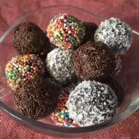 Choc Condensed Milk Truffles