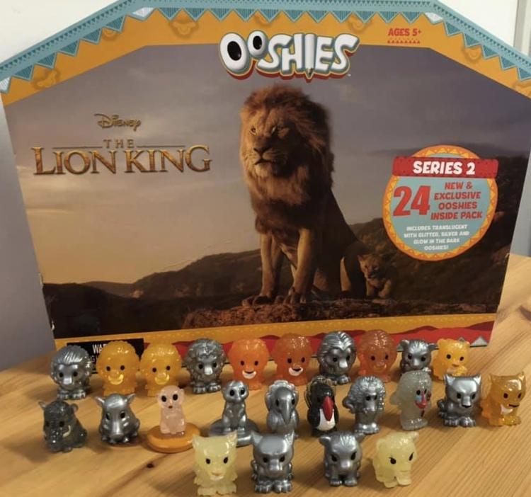 Lion king ooshies series 2 full set
