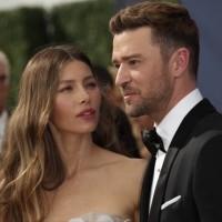 Justine Timberlake and Jessica Biehl
