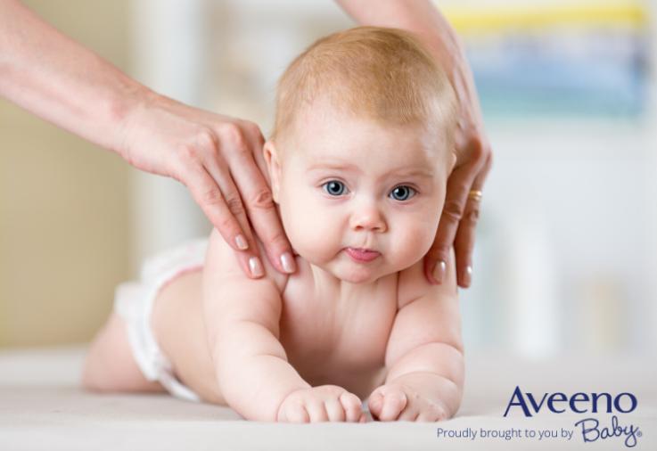 Importance of Applying moisturiser to baby's skin