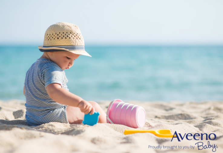 protect your baby's skin while playing in the sun