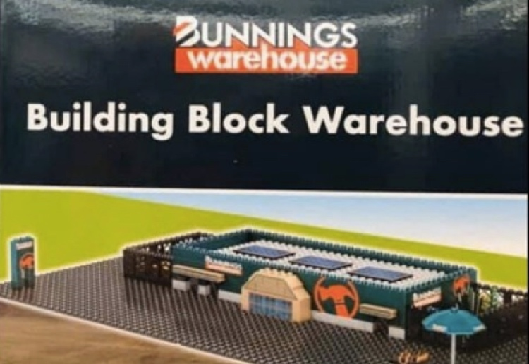 Now You Can Build Your Own Bunnings Warehouse