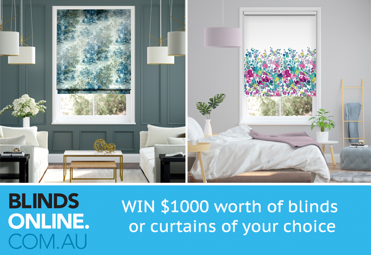 WIN $1000 Worth Of Blinds Or Curtains From Blinds Online!