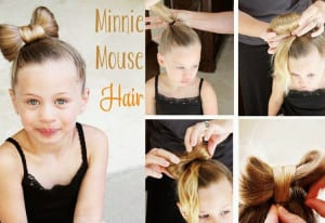 Hairstyles for school minnie mouse
