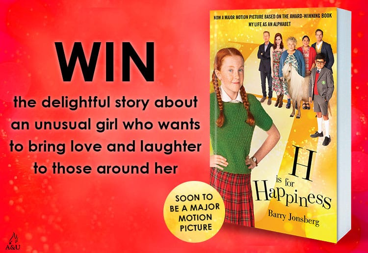 WIN 1 of 30 copies of H is for Happiness by Barry Jonsberg