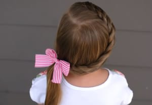Hairstyles for school across braid