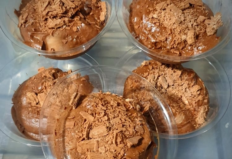 Gluten Free Chocolate Mousse with Nutella