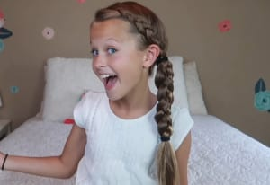 Haitstyles for school braided ponytail