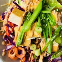 Raw Pad Thai with Peanut Satay Sauce