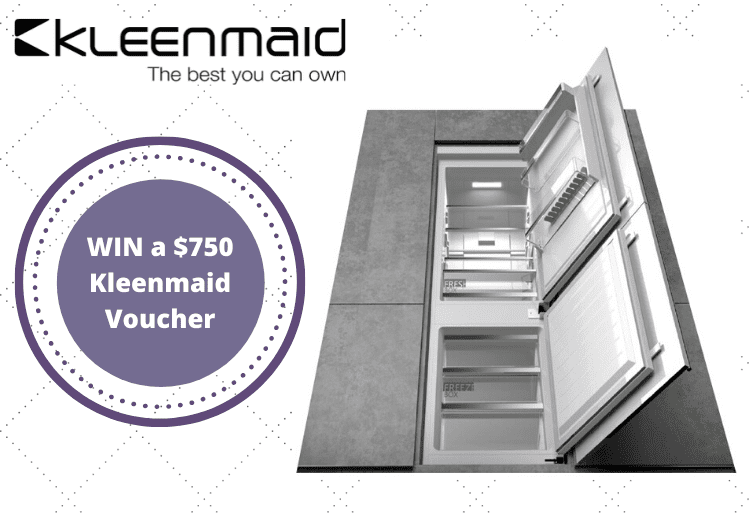 WIN a $750 Kleenmaid Appliance Voucher in January!