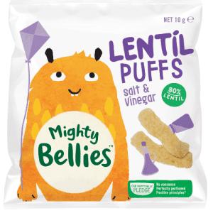 MightyBelliesLentilPuffsSaltand Vinegar10g