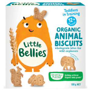 image of Little Bellies Organic Animal Biscuits