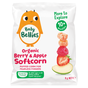 Image of Baby Bellies Organic Berry and Apple Softcorn