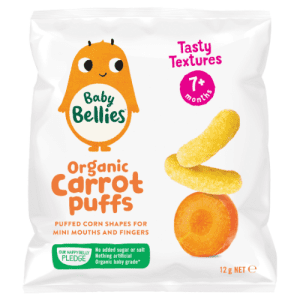 image of Baby Bellies Organic Carrot Puffs 12 g