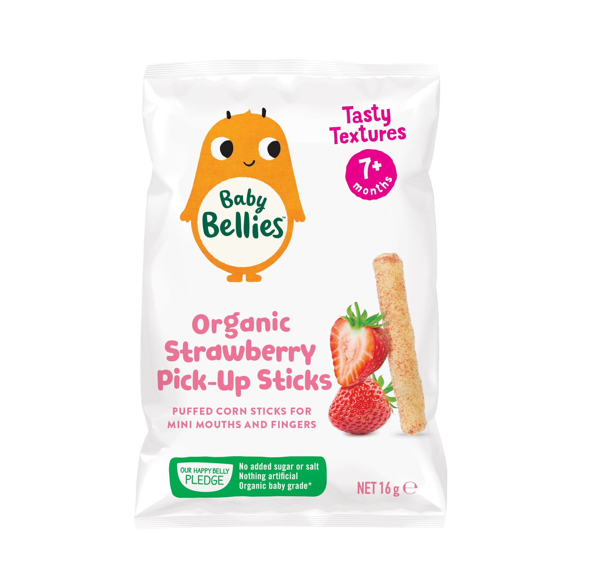 image of Baby Bellies Organic Strawberry Pick Up Sticks