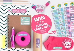 WIN A School Labels Kit From Bright Star Kids