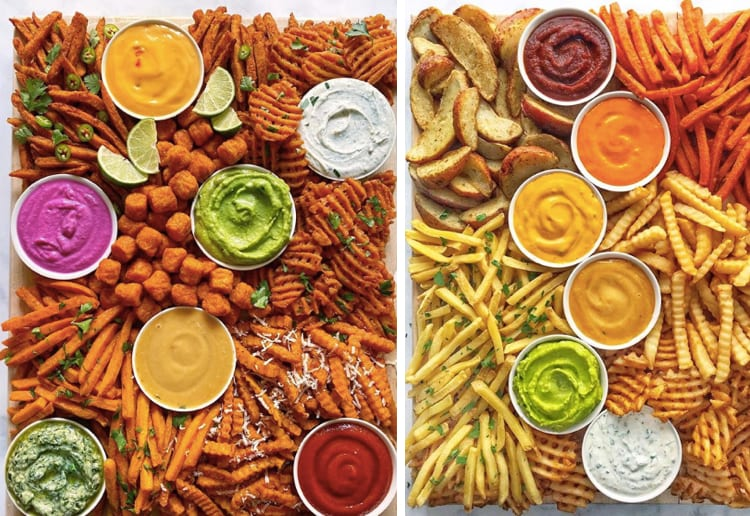 The Fries Board Is The Hottest New Grazing Platter