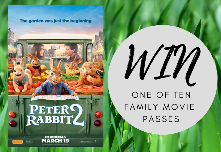 WIN 1 of 10 Peter Rabbit 2 Promotional Packs!
