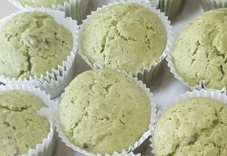 Green Spinach Muffins