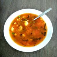 Macaroni and Vegetable Soup Recipe