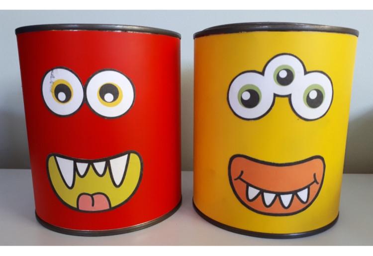 monster tins