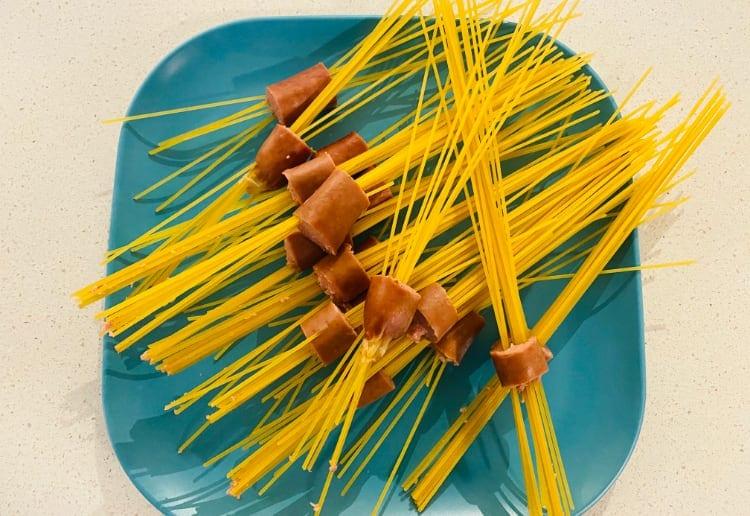 spaghetti-sausage-bites-raw
