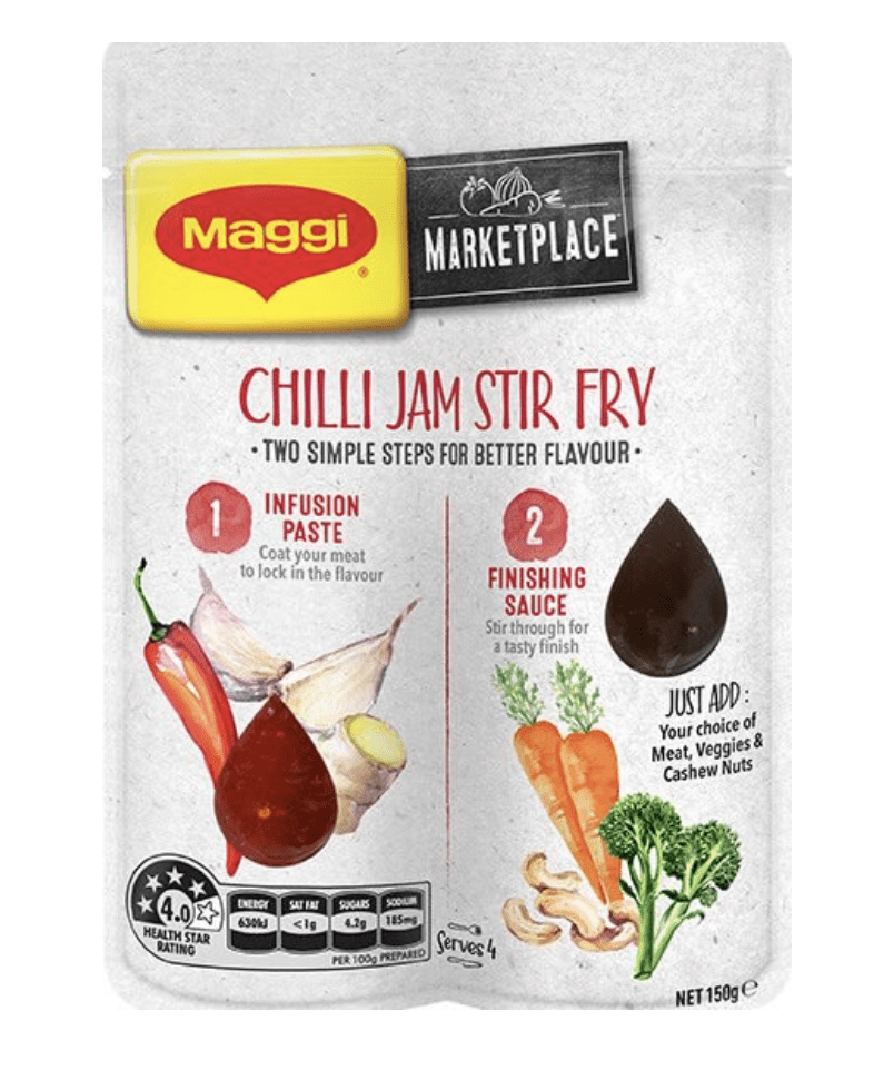 MAGGI Marketplace Chilli Jam Stir Fry