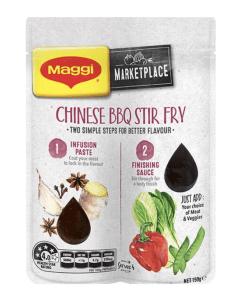 MAGGI Marketplace Chinese BBQ Pork Stir Fry