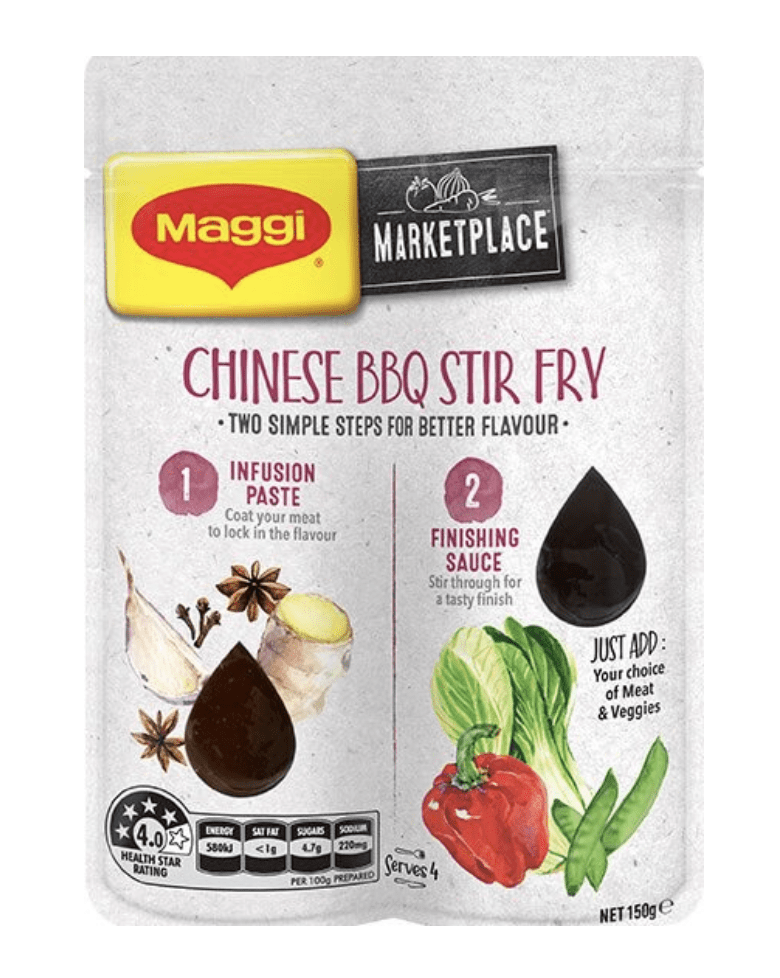 MAGGI Marketplace Chinese BBQ Pork Stir Fry