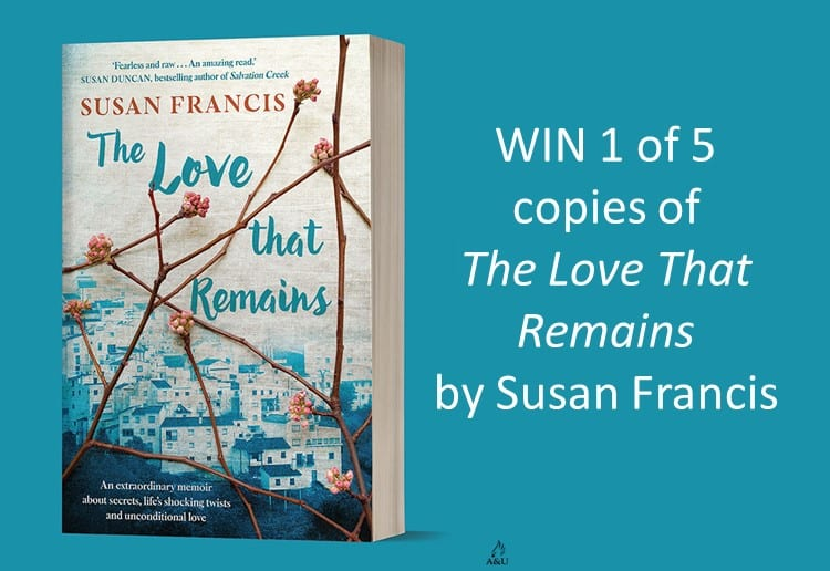 WIN 1 of 5 copies of The Love That Remains by Susan Francis