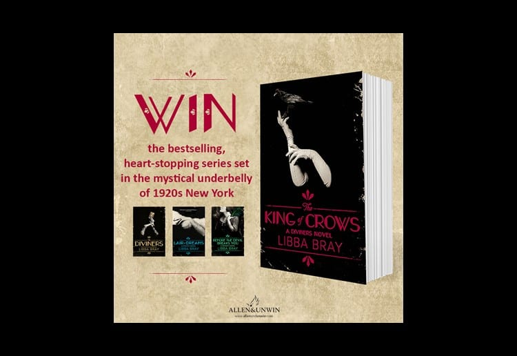 Win 1 of 2 complete sets of The Diviners series by Libba Bray!