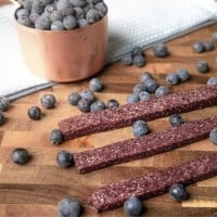 Blueberry Fruit Leathers