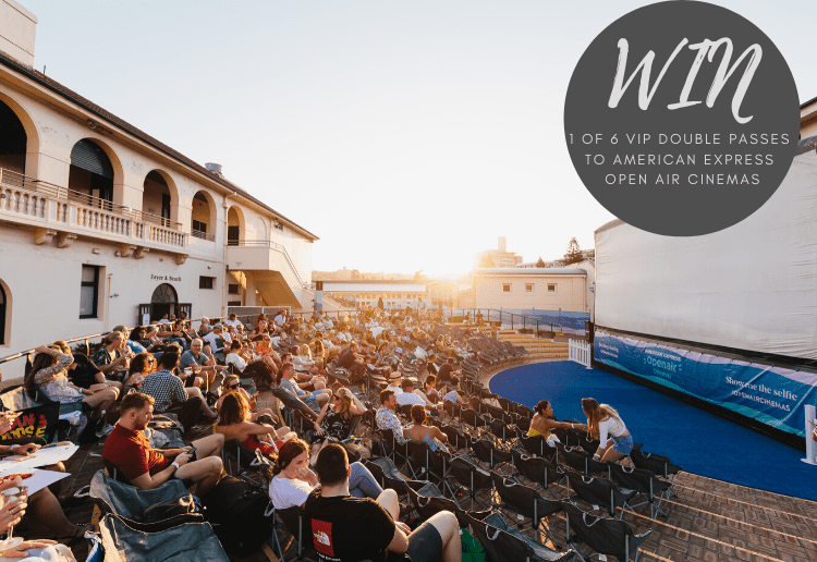 WIN 1 of 6 VIP Double Passes to American Express Open Air Cinemas!