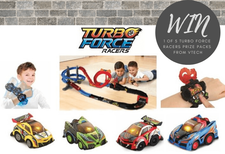 WIN 1 of 5 Turbo Force Racers Prize Packs from VTech