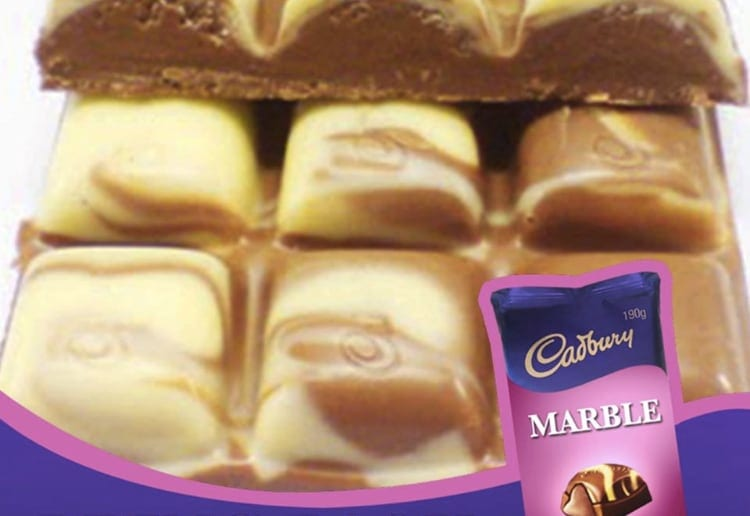 Frankiielot reviewed Cadbury Marble Chocolate Is Coming Back To Australia