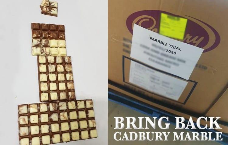 cadbury marble pics