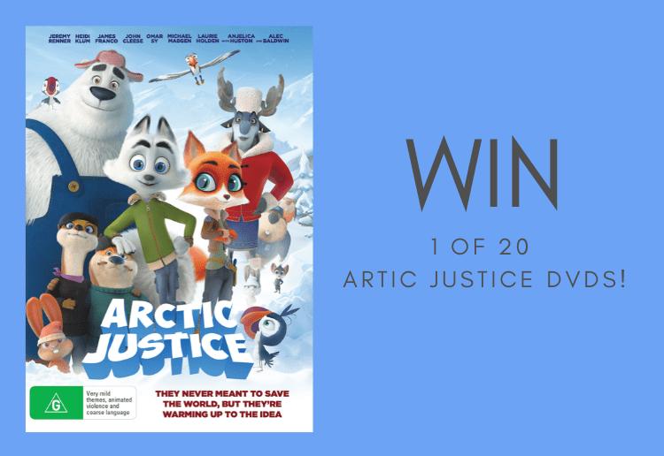 Win 1 of 20 Artic Justice DVDs!