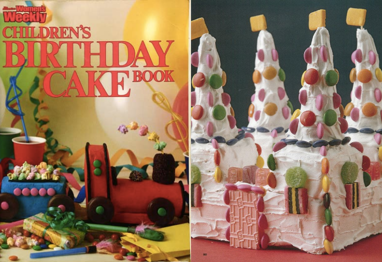 The Most Popular Cakes From The Women's Weekly Children's Birthday Cake Cook
