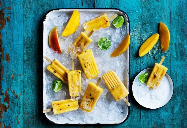 Mango Paletas – Frozen Fruity Ice Pop