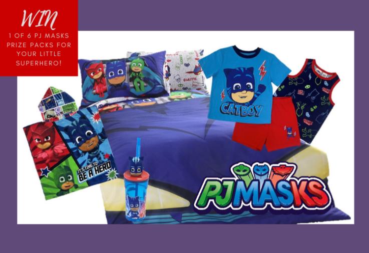 A huge PJ masks prize pack