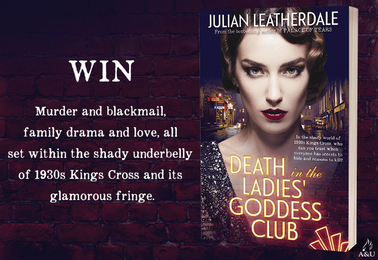 WIN 1 of 17 copies of Death in the Ladies' Goddess Club