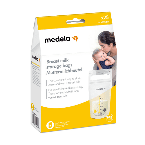 Image of medela breast milk bags