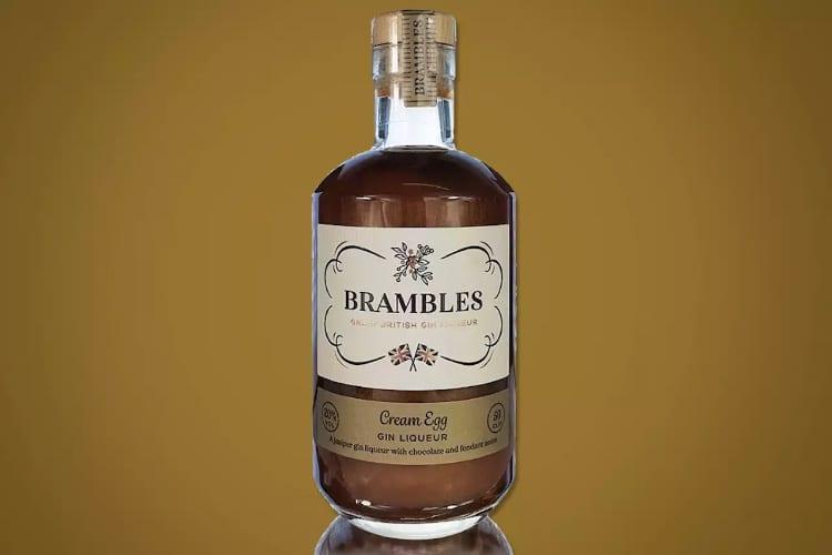 brambles creme egg gin