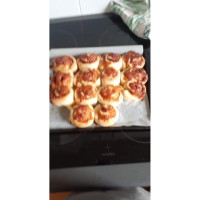 Cheese and vegemite scrolls